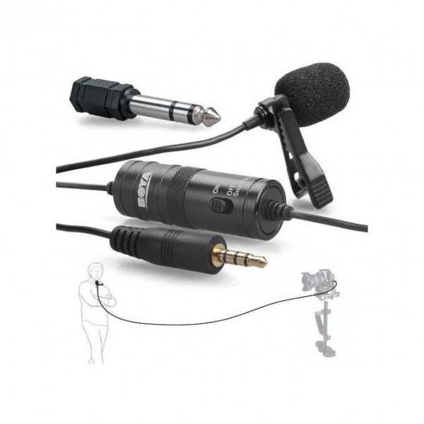 Boya BY-M1 3.5mm Lavalier Clip Microphone