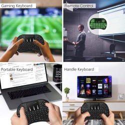 Wireless Mini Keyboard Touchpad Air Mouse
