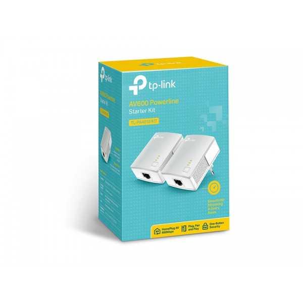 TP-LINK Pack De 2 CPL Nano AV600, 1 Port Ethernet 100 Mbps