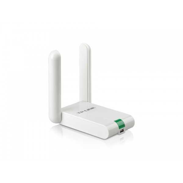 TP-LINK Adaptateur USB WiFi À Gain Élevé 300 Mbps TL-WN822N