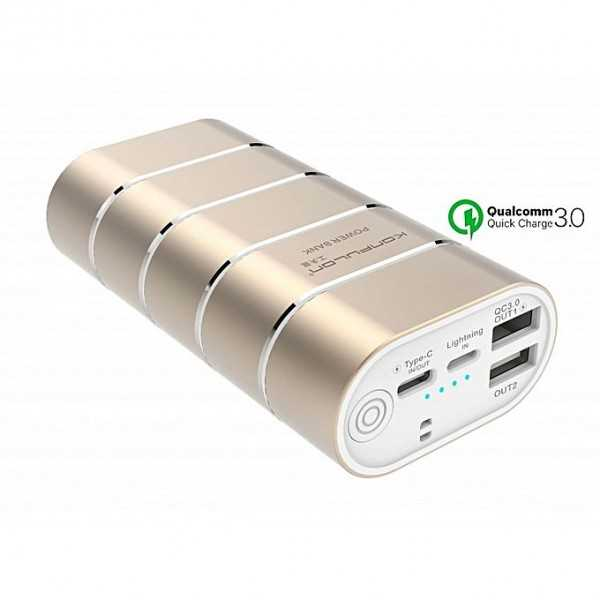 Power Bank Konfulon Q10 2u 5.1A 10000mah Fast