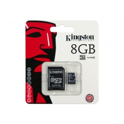 Kingston Micro SD 8 Go Canvas Select SDHC Class 10