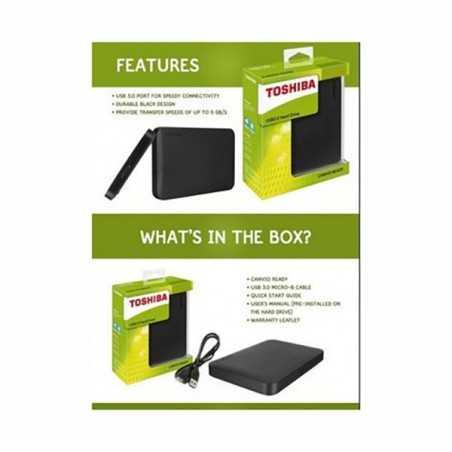 Toshiba DTB420 Canvio Basics 1TB External Hard Drive