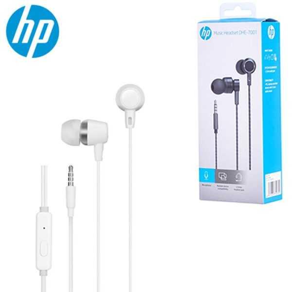 Ecouteurs Filaire HP DHE-7000 avec Microphone